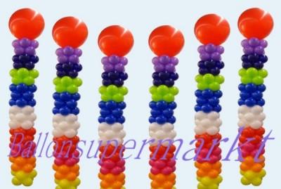 Ballondekoration-Luftballons-Dekoballons
