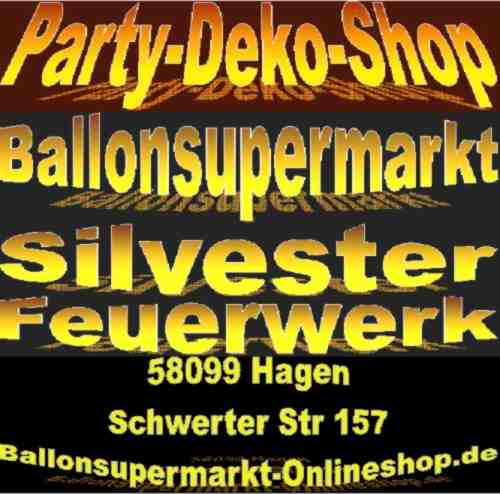 Party-Deko-Shop-Silvester-Feuerwerk-Silvesterdekoration-Ballons
