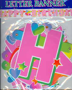 Geburtstag Hearts Banner Happy Birthday