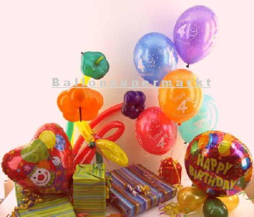 Kindergeburtstag mit Ballons