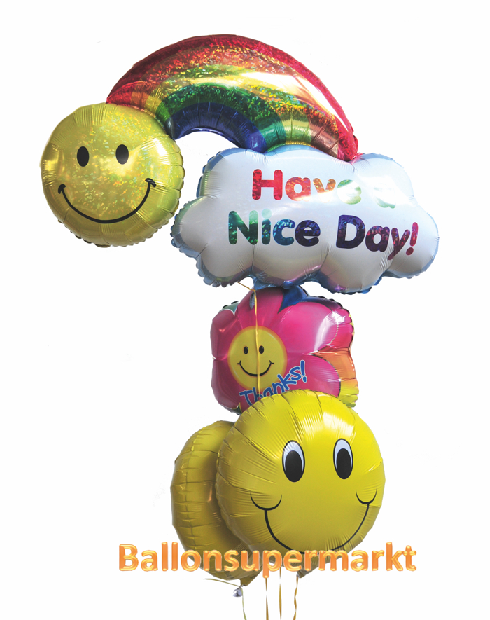 Ballons aus Folie Have a nice Day